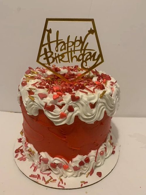 OLD SCHOOL CLASSIC BIRTHDAY CAKE