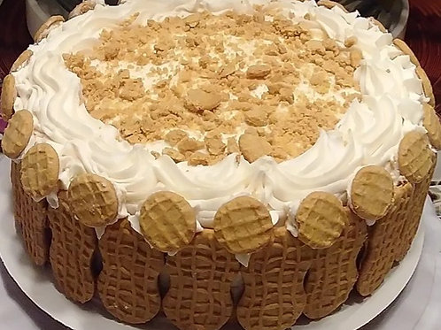 Nutty Peanut  Butter Cake -Specialty-