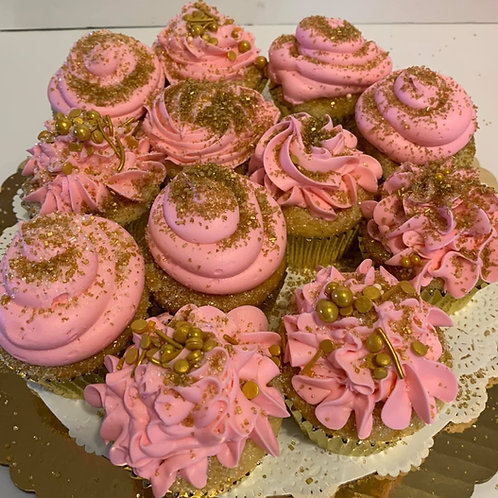 """The Lady Shirley  Cake & Cupcake"""" -Select Quick view for pricing"""