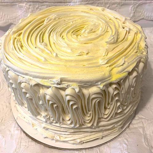 Lemon Velvet Cream  Cake - Specialty
