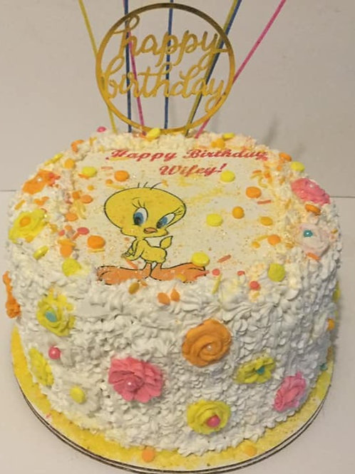 Tweety Bird-  cakes do not ship