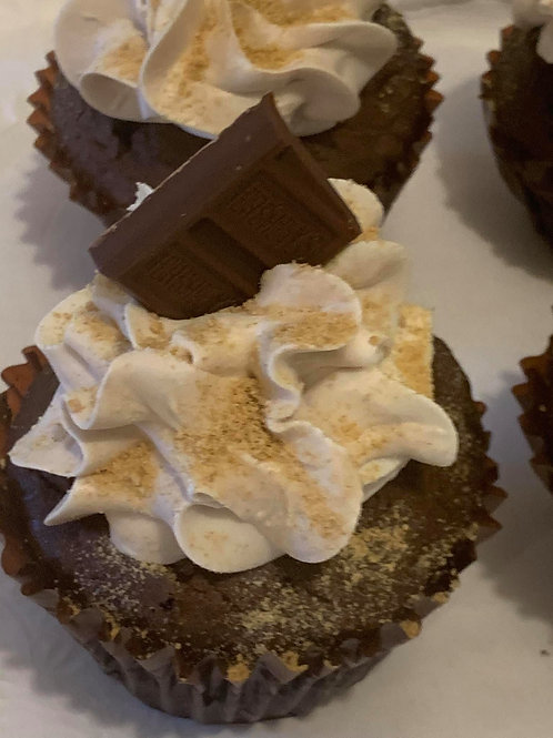 Smore's  Marshmallow Filling/Vanilla frosting- Select Quick view for pricing