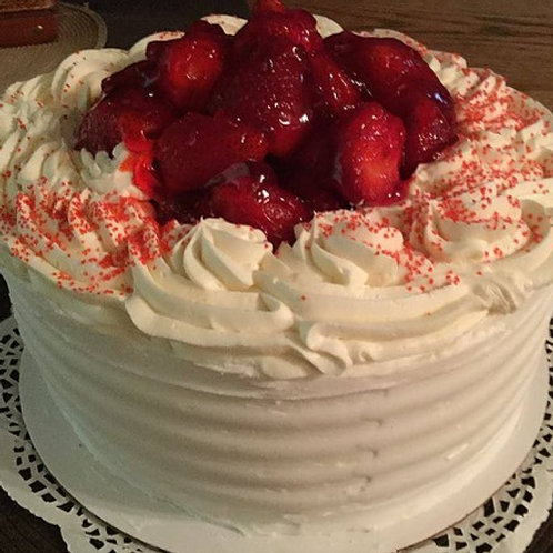 Specialty-Strawberry Shortcake/ Vanilla Whipped Cream Cheese