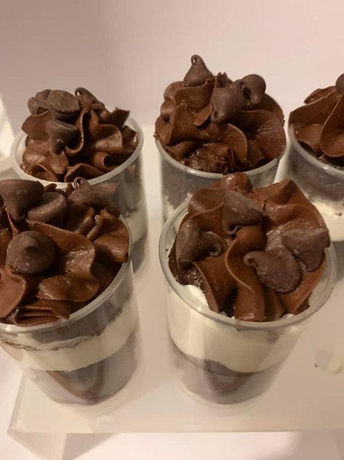 Dreamy Chocolate Shortcake Push Up Treats- Pick up or shipping option
