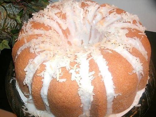 Coconut Cream-Bundt Pound