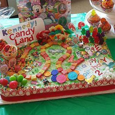 Candy Land Cake– Cakes do not Ship