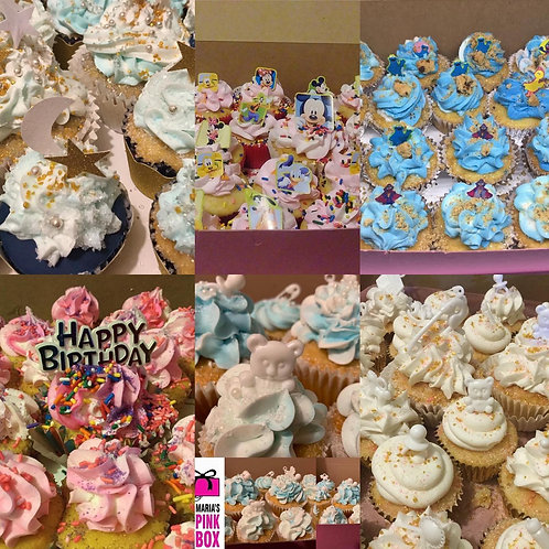 Themed Cupcakes - You Specify your Theme