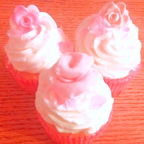 Signature Cupcake- Maria's Pink Ice Cupcake