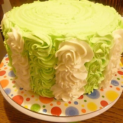 Ribbon Swirl Cake