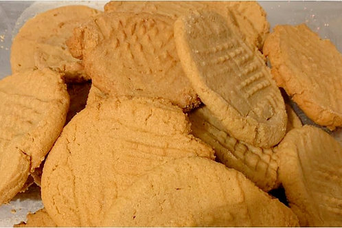 Classic Peanut Butter Cookies -Pick up or Shipping Fee Option