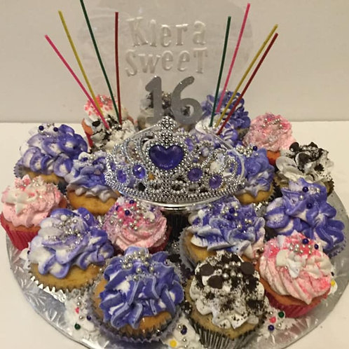 Images of pull apart cupcake cakes