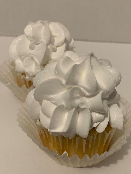 Whipped Vanilla Cream Cupcakes