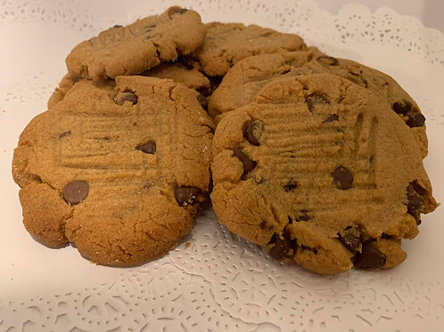 Classic Peanut & Chocolate Cookies - Pick up or Shipping Fee Option