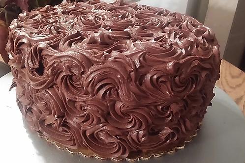 Specialty- Banana Cake/Milk Chocolate Frosting