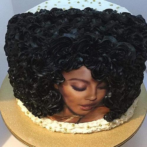 Pretty Lady Cake