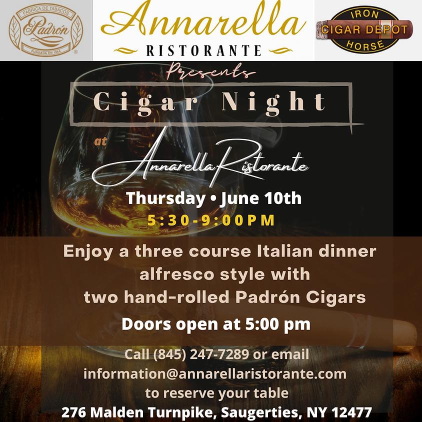 Cigar Night at Annarella Ristorante