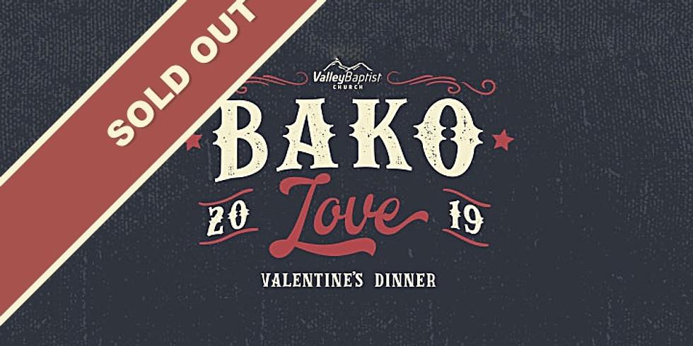 BAKO LOVE - Valentine's Dinner