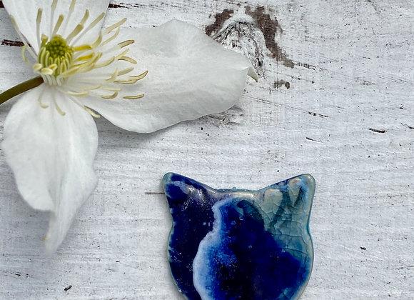 Cat - Wearable Art Pin [SC#1]