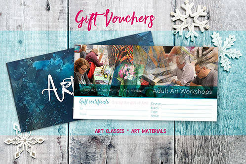 Art Workshop Voucher: From £10