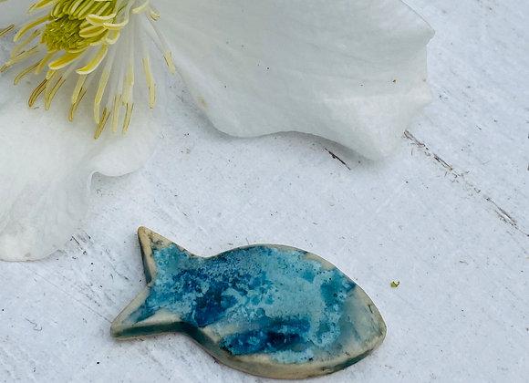 Little Fish - Unisex Pin badge #2