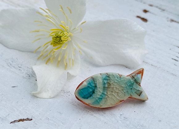 Little Fish - Unisex Pin brooch #4