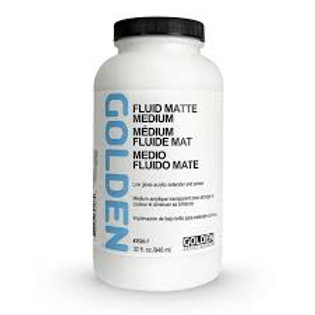 Golden Fluid Matte Medium 946ml