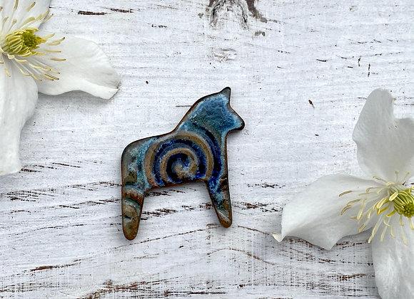 Dala Horse Pin [SC#8]