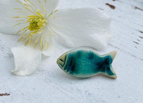 Little Fish - Unisex Pin badge #8
