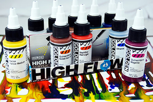 Golden High Flow (10 Assorted Colours)