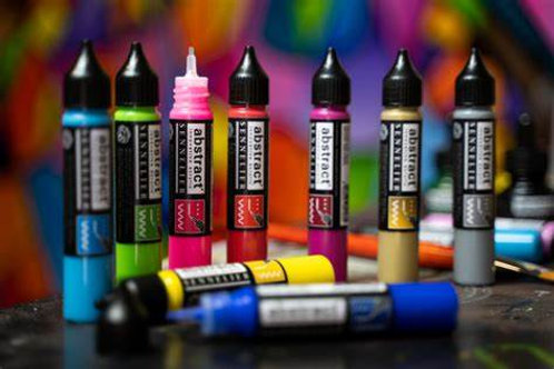 Sennelier Abstract Acrylic - 3d Liners (27ml)