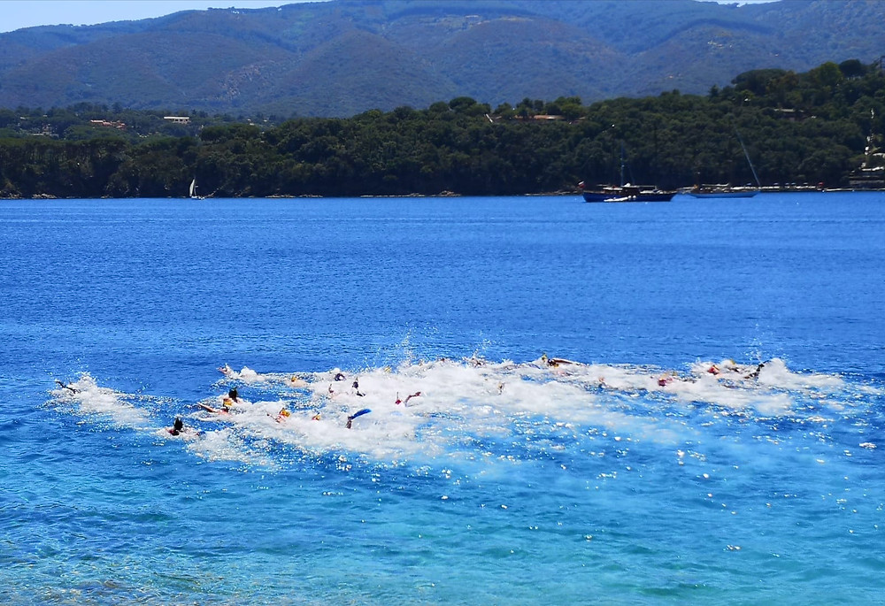 Gara di nuoto pinnato 16.06.2019 Porto Azzurro