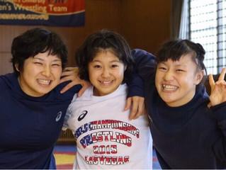 娘です!現在至学館大学3年生! 金メダリストの先輩達とレスリング漬けの毎日です!!(土性、娘、登坂)