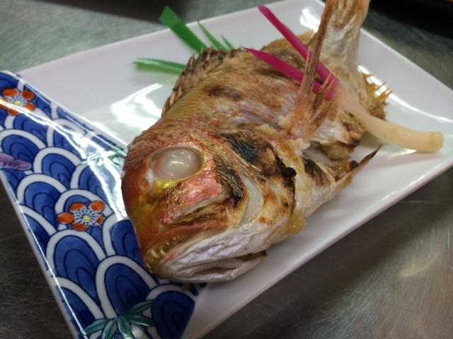 レンコ鯛の味噌焼き