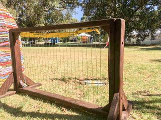 Weaving Loom or Outdoor Harp