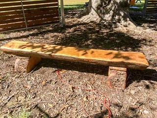 Natural Timber Bench