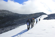 Зимний тур на гору Народная на трэколах
