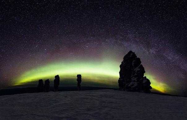 Зимний тур к одному из 7 чудес России - плато Маньпупунёр