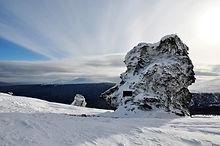 Перевал Дятлова на снегоходах