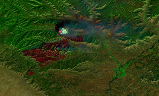 Pine Gulch Fire: Grand Junction, Colo.