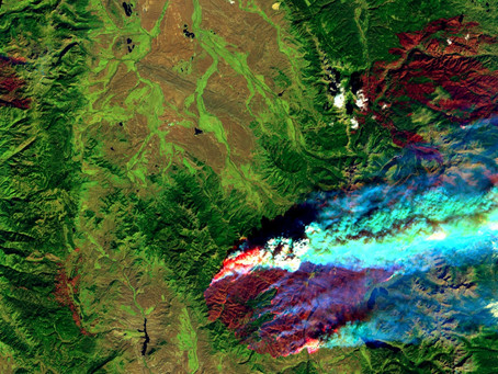 Smoke plume summer: Watching wildfires from space with Landsat 8 and Google Earth Engine