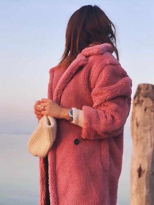 Teddy coat Rosa