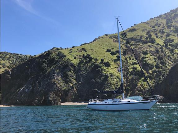 Sailing Long Beach to Catalina - Charter Sailboat - Boat Rental