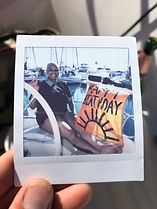 Birthday Celebration on a Sailboat in Long Beach / Los Angeles County