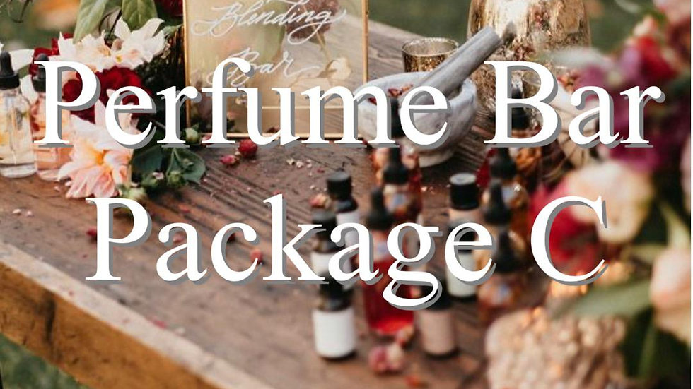 Perfume Bar Package C