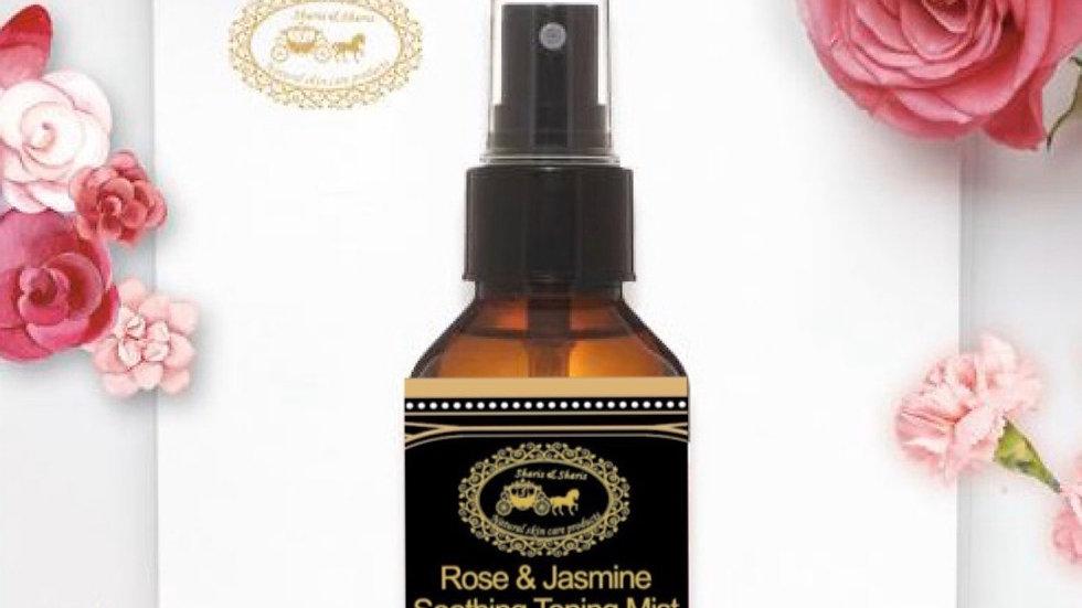 Men's Rose & Jasmine Soothing Toning Mist 100ml (Black) 男士玫瑰茉莉舒緩爽膚噴霧