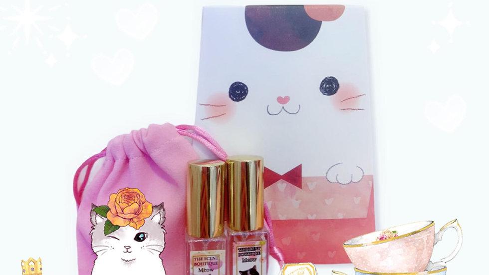 貓咪慈善香水 Perfume Set - 附送神秘小禮物一份