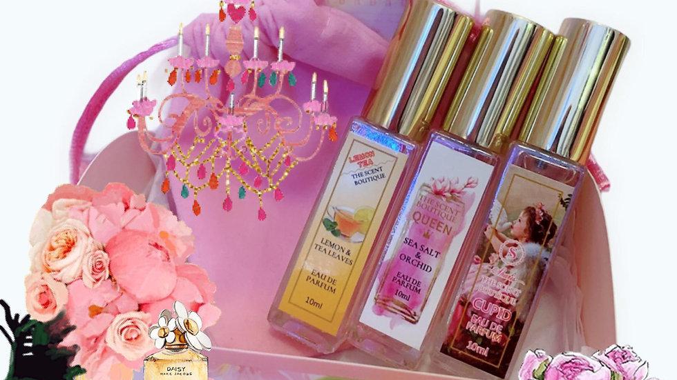 Perfume Set (自由配搭3款10ml香水) - 附送神秘小禮物一份