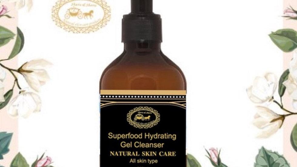 Men's Superfood Hydrating Gel Cleanser 200ml (Black) 男士超級食物保濕潔面凝膠