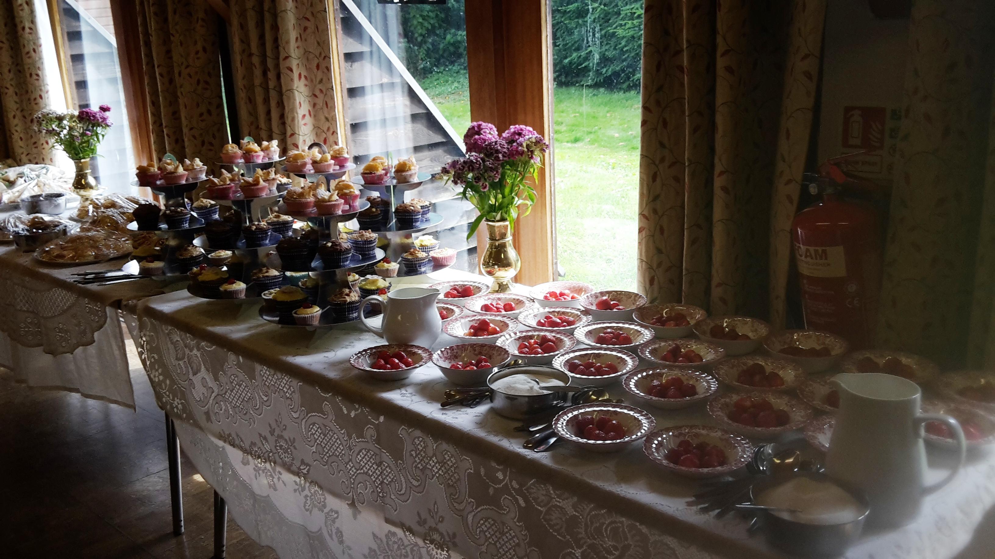 Strawberry Tea - 10 July 2016