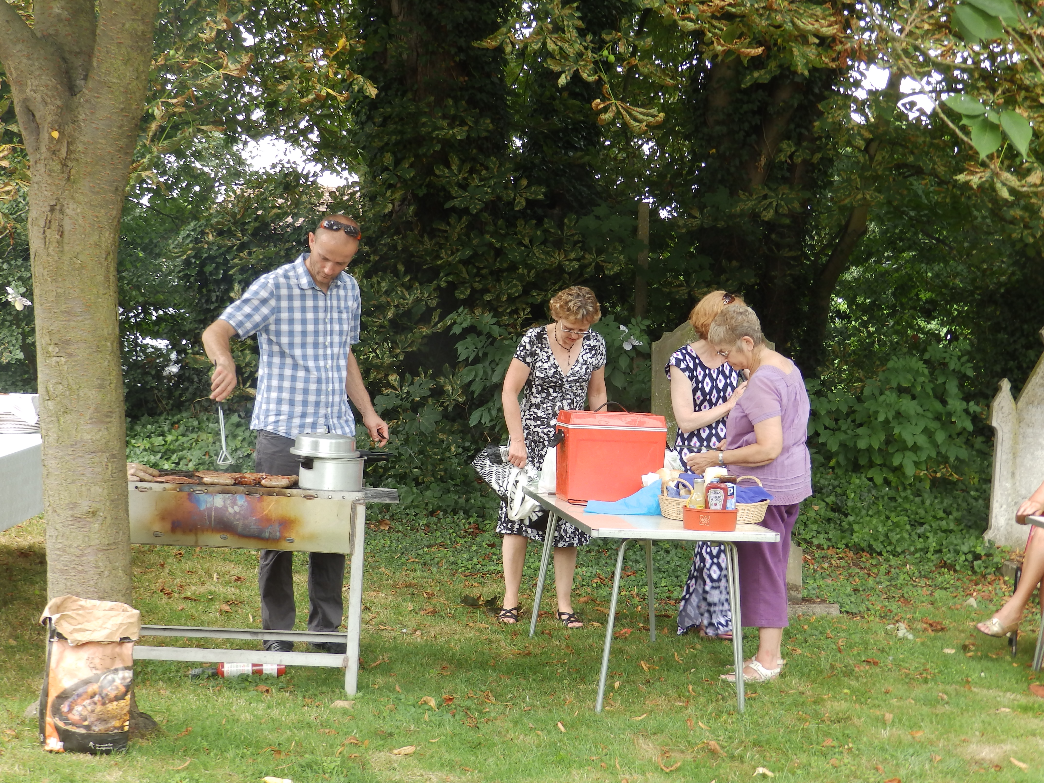 Patronal Festival Barbecue